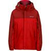 Marmot Boys PreCip Jacket Team Red/Dark Crimson